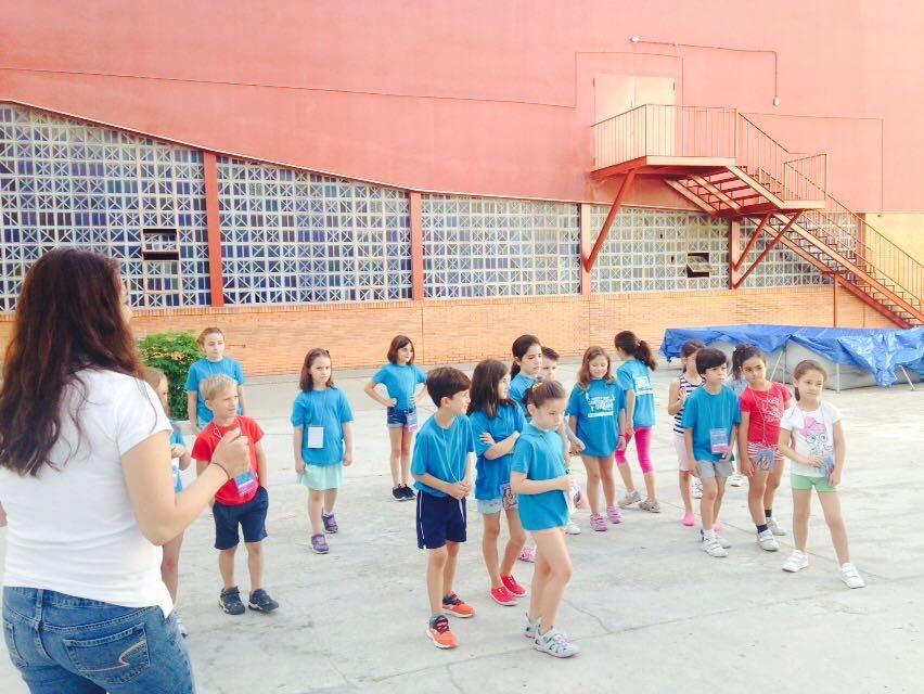 1er día de Summer Camp. Salesianos Trinidad