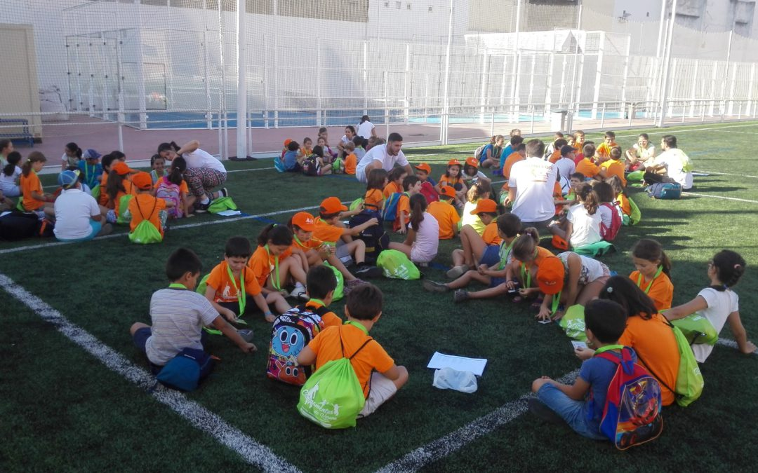 COMENZAMOS EL SUMMER CAMP 2017