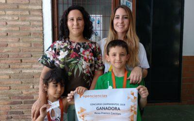 GANADORA SORTEO PLAZA CAMPAMENTO SALESIANAS MARÍA AUXILIADORA