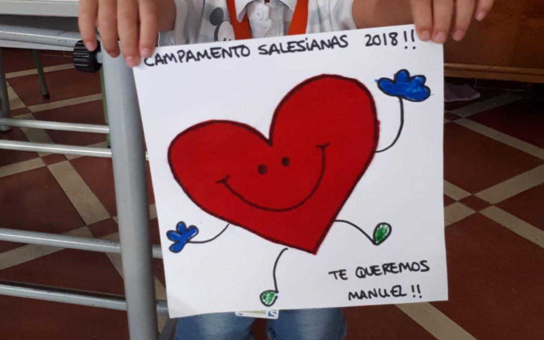 ÚLTIMO DÍA CAMPAMENTO SALESIANAS Mª AUXILIADORA